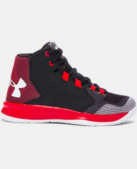 Boys' Pre-School UA Torch Fade Basketball Shoes