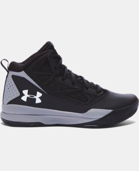 Boys' Grade School UA Jet Mid Basketball Shoes   $54.99