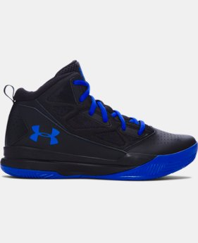 Boys' Grade School UA Jet Mid Basketball Shoes  1 Color $54.99
