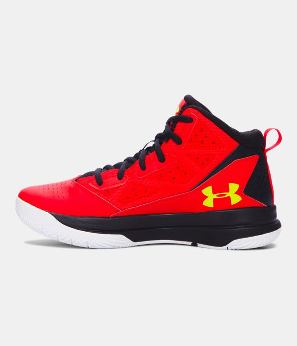 Under Armour Boys Jet Mid Basketball Shoes Grade School