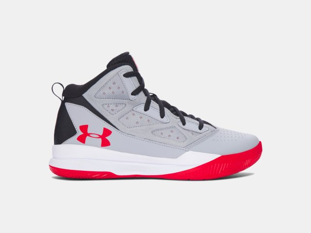 546a39eed1f4 Boys  Grade School UA Jet Mid Basketball Shoes