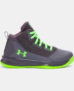 Boys' Pre-School UA Jet Mid Basketball Shoes LIMITED TIME: FREE SHIPPING  $59.99