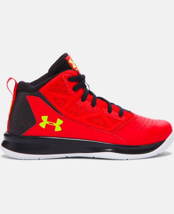Boys' Pre-School UA Jet Mid Basketball Shoes LIMITED TIME: FREE U.S. SHIPPING 1 Color $41.99