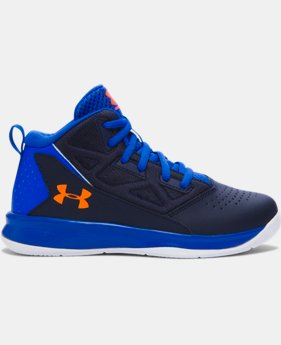 Boys' Pre-School UA Jet Mid Basketball Shoes LIMITED TIME: FREE U.S. SHIPPING  $41.99
