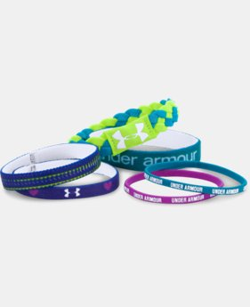 Girls' UA Wristbands