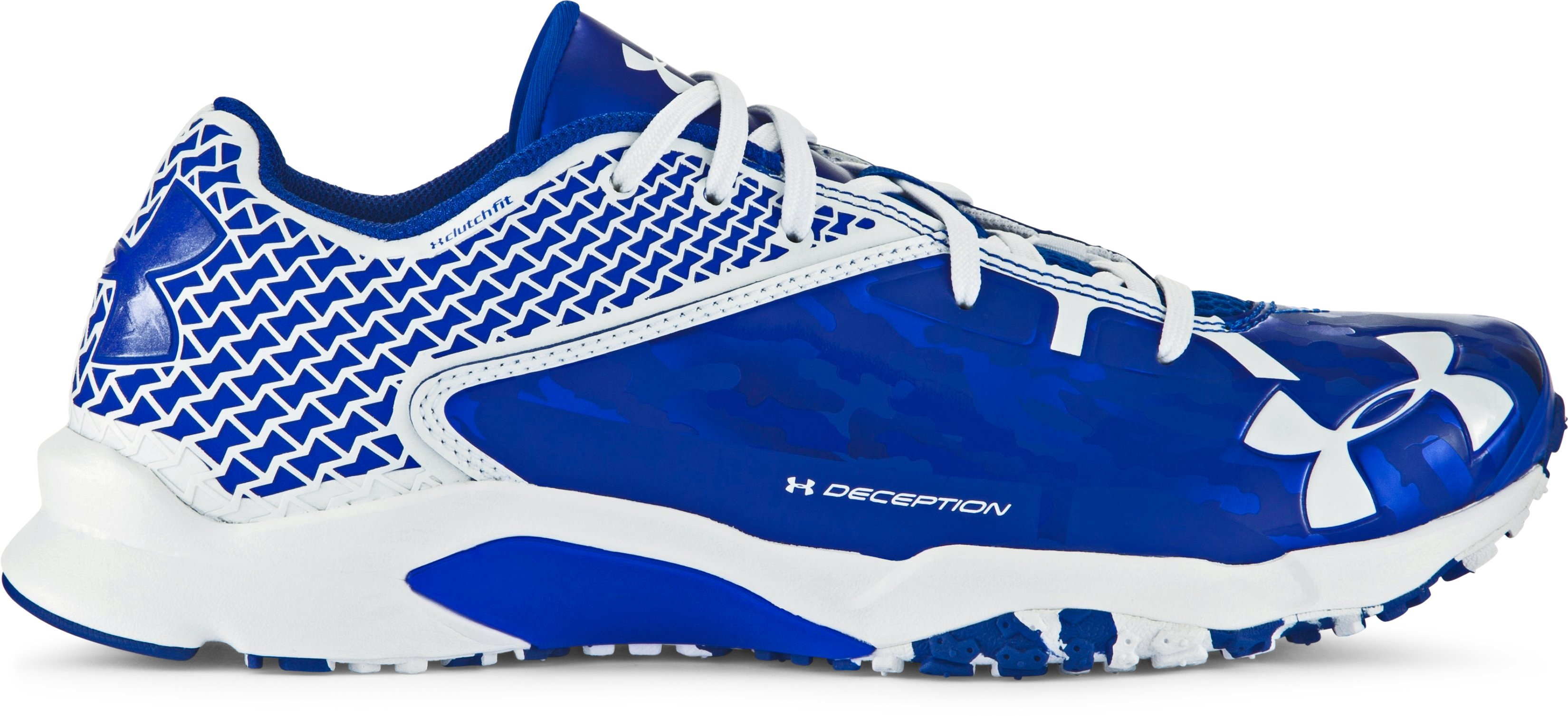 Men's UA Deception Baseball Trainers, TEAM ROYAL, zoomed image