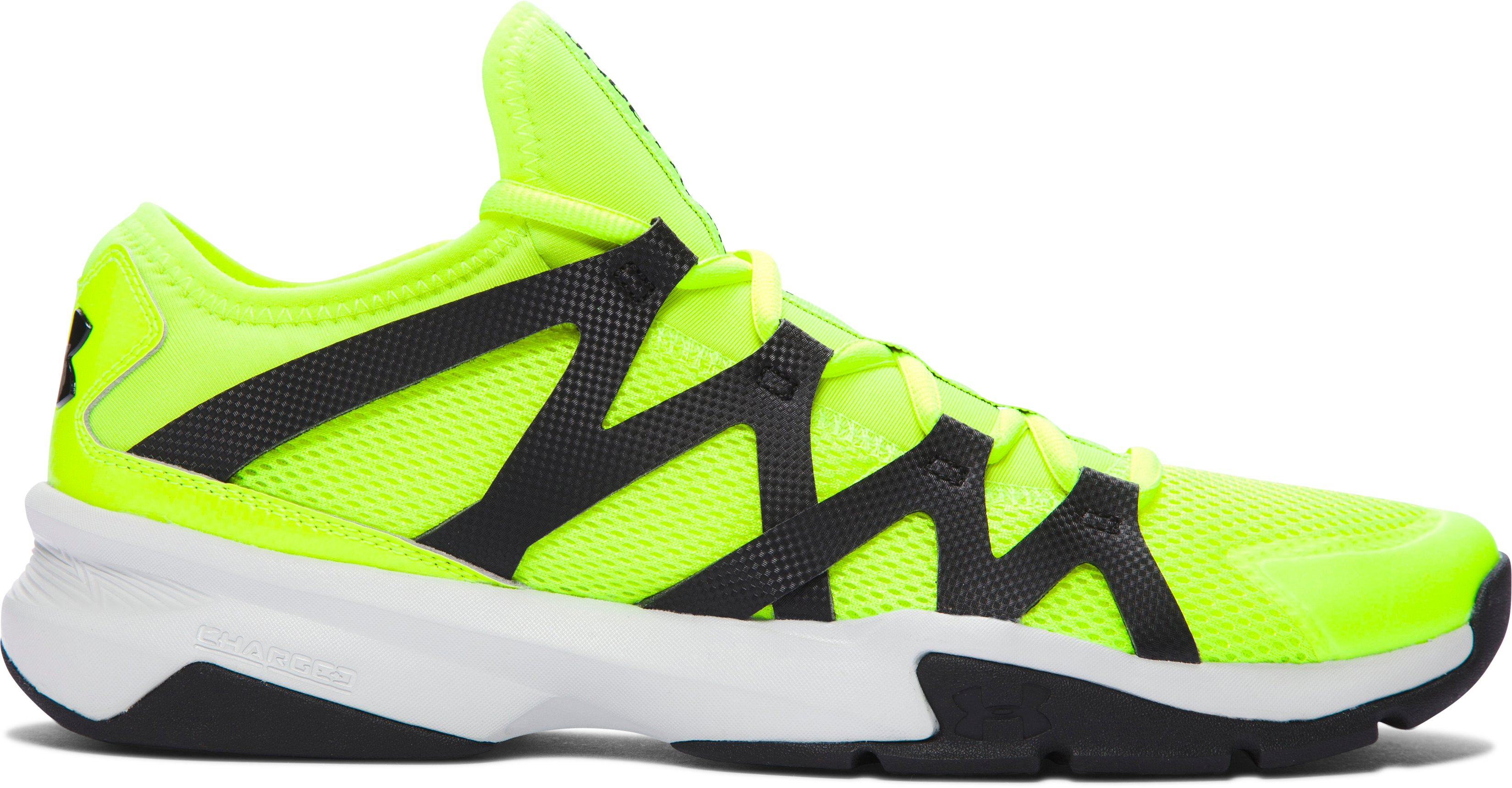Men's UA Charged Phenom 2 Training Shoes, High-Vis Yellow
