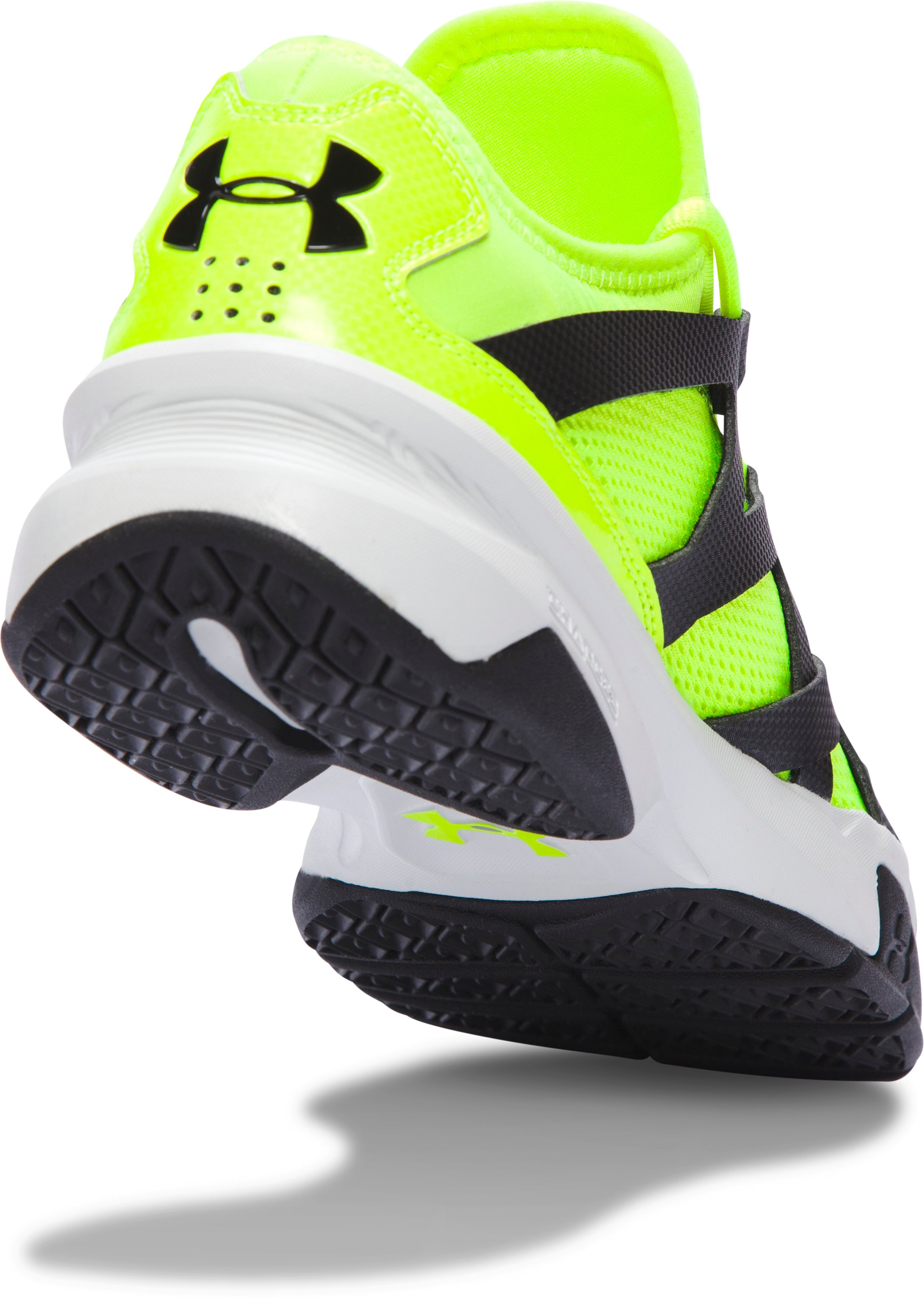 Men's UA Charged Phenom 2 Training Shoes, High-Vis Yellow,