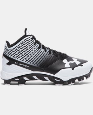 Boys' UA Spine Heater Mid TPU Jr. Baseball Cleats LIMITED TIME: FREE SHIPPING 3 Colors $52.99