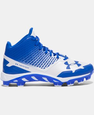 Boys' UA Spine Heater Mid TPU Jr. Baseball Cleats LIMITED TIME: FREE U.S. SHIPPING  $41.99