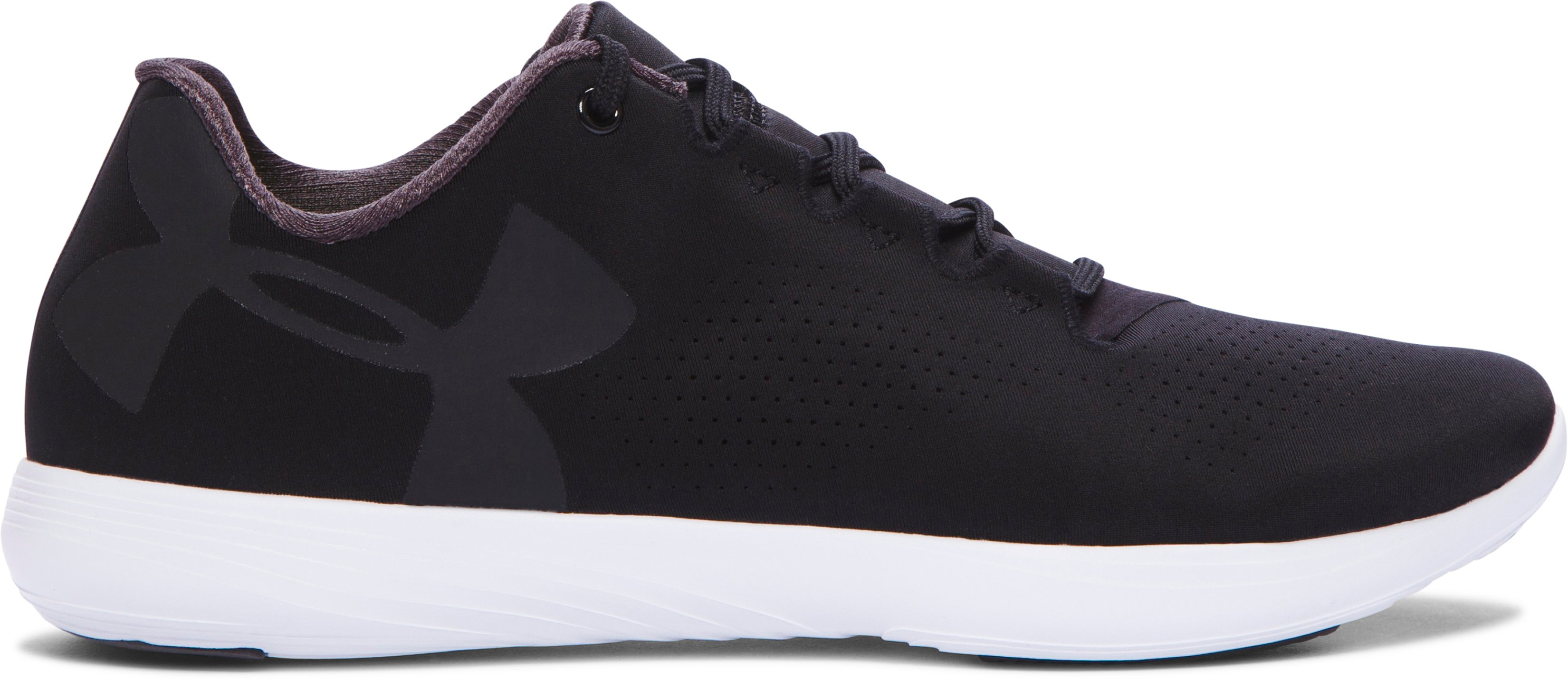 Women's UA Street Precision Low Training Shoes, Black , zoomed image