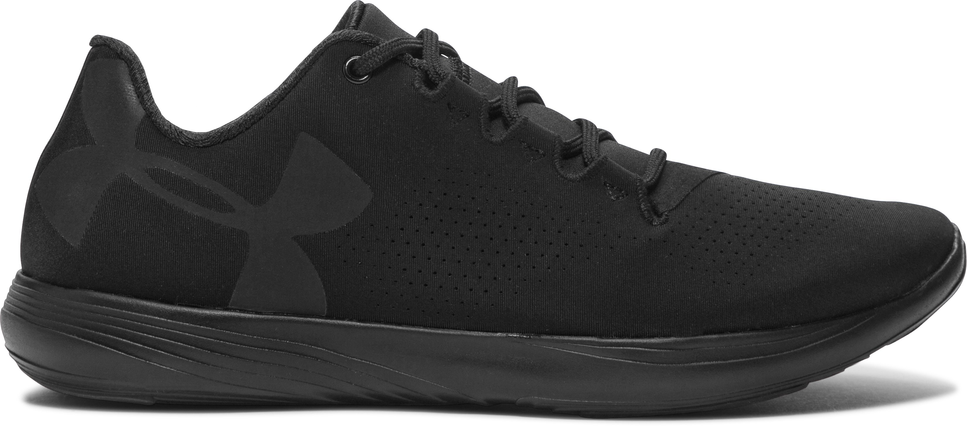Women's UA Street Precision Low Training Shoes, Black ,