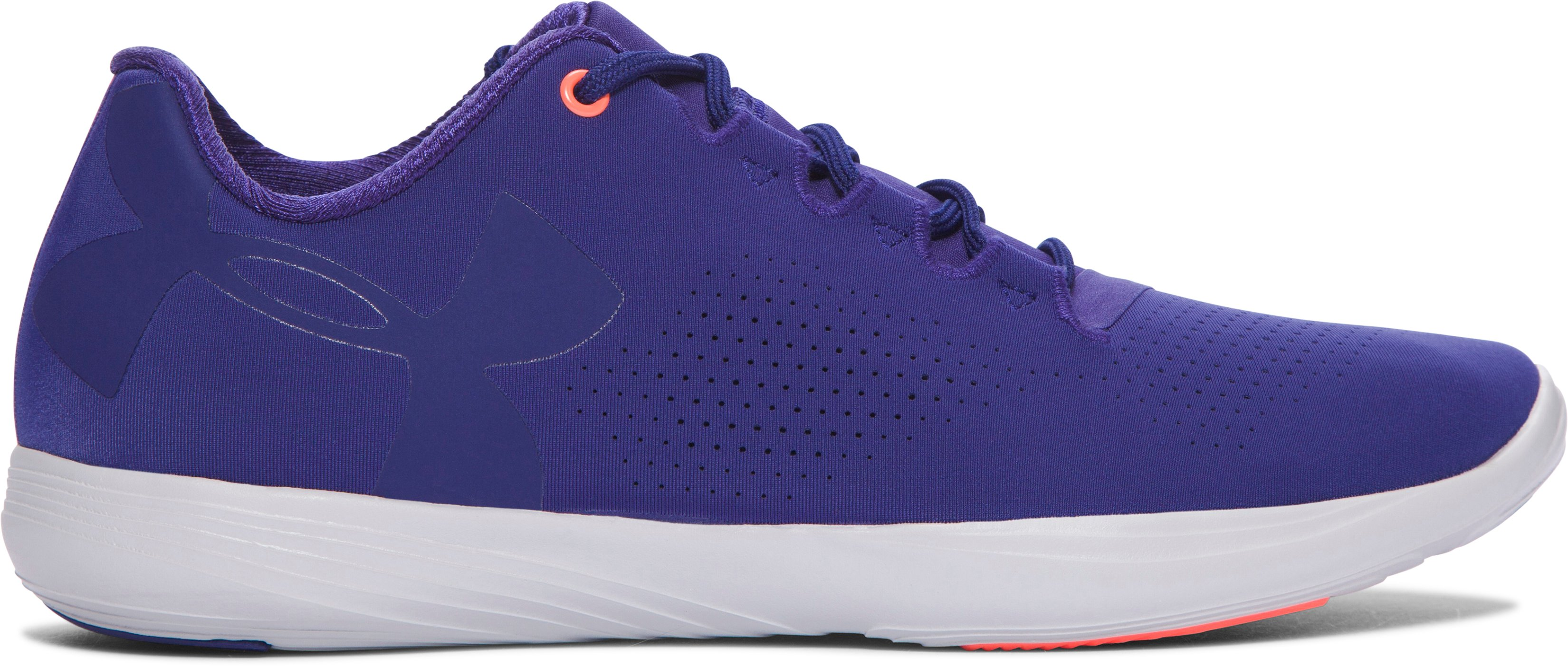 Women's UA Street Precision Low Training Shoes, EUROPA PURPLE,