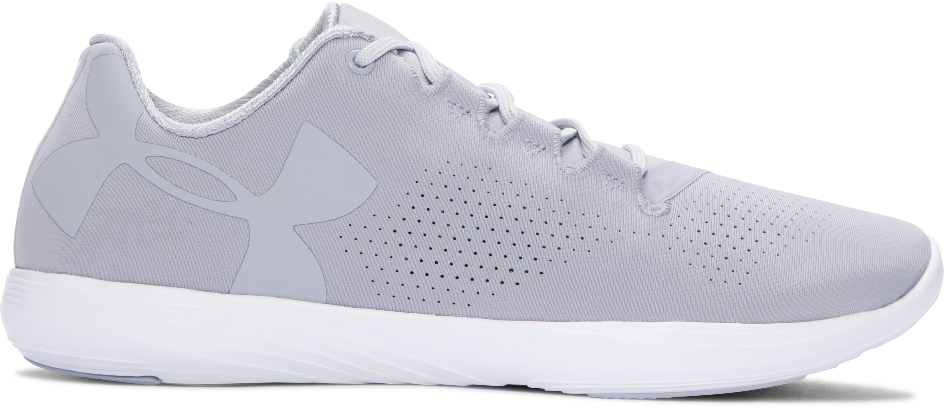 Women's UA Street Precision Low Training Shoes, OVERCAST GRAY, undefined