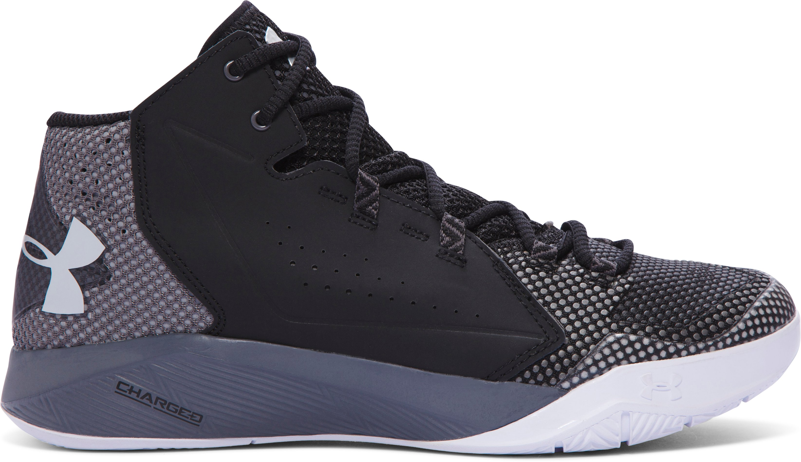 Men's UA Torch Fade Shoes, Black ,