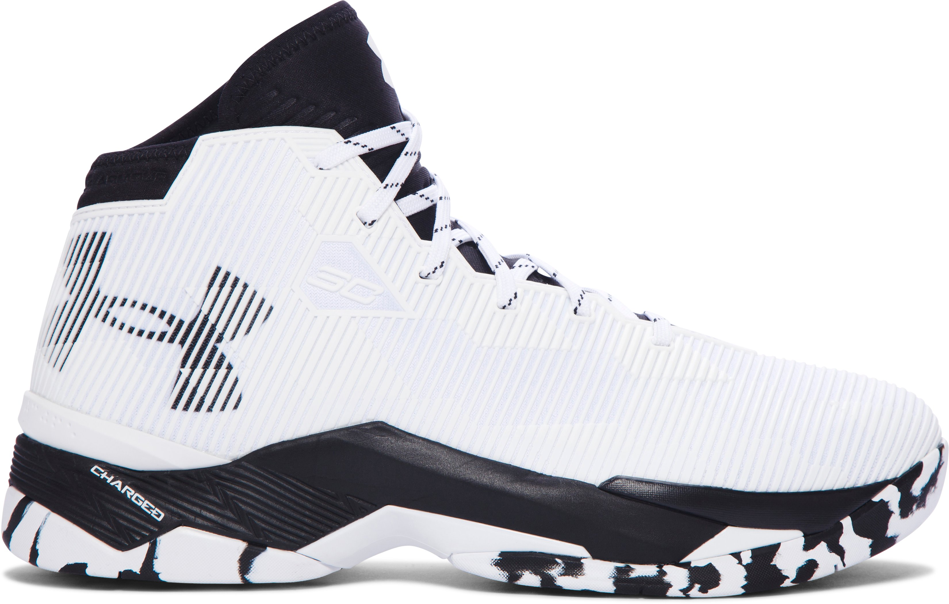 Men's UA Curry 2.5 Basketball Shoes, White