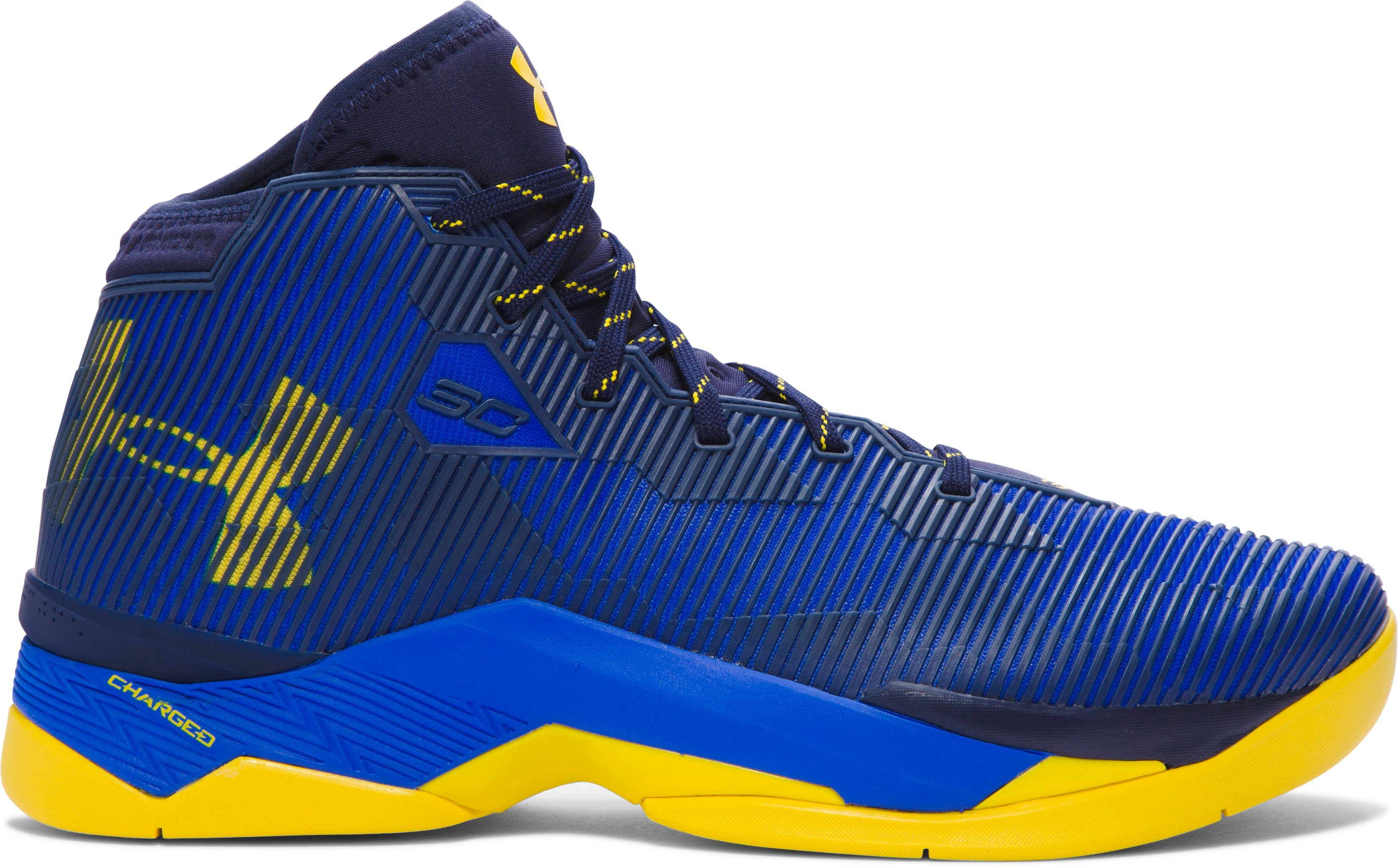Men's UA Curry 2.5 Basketball Shoes, TEAM ROYAL