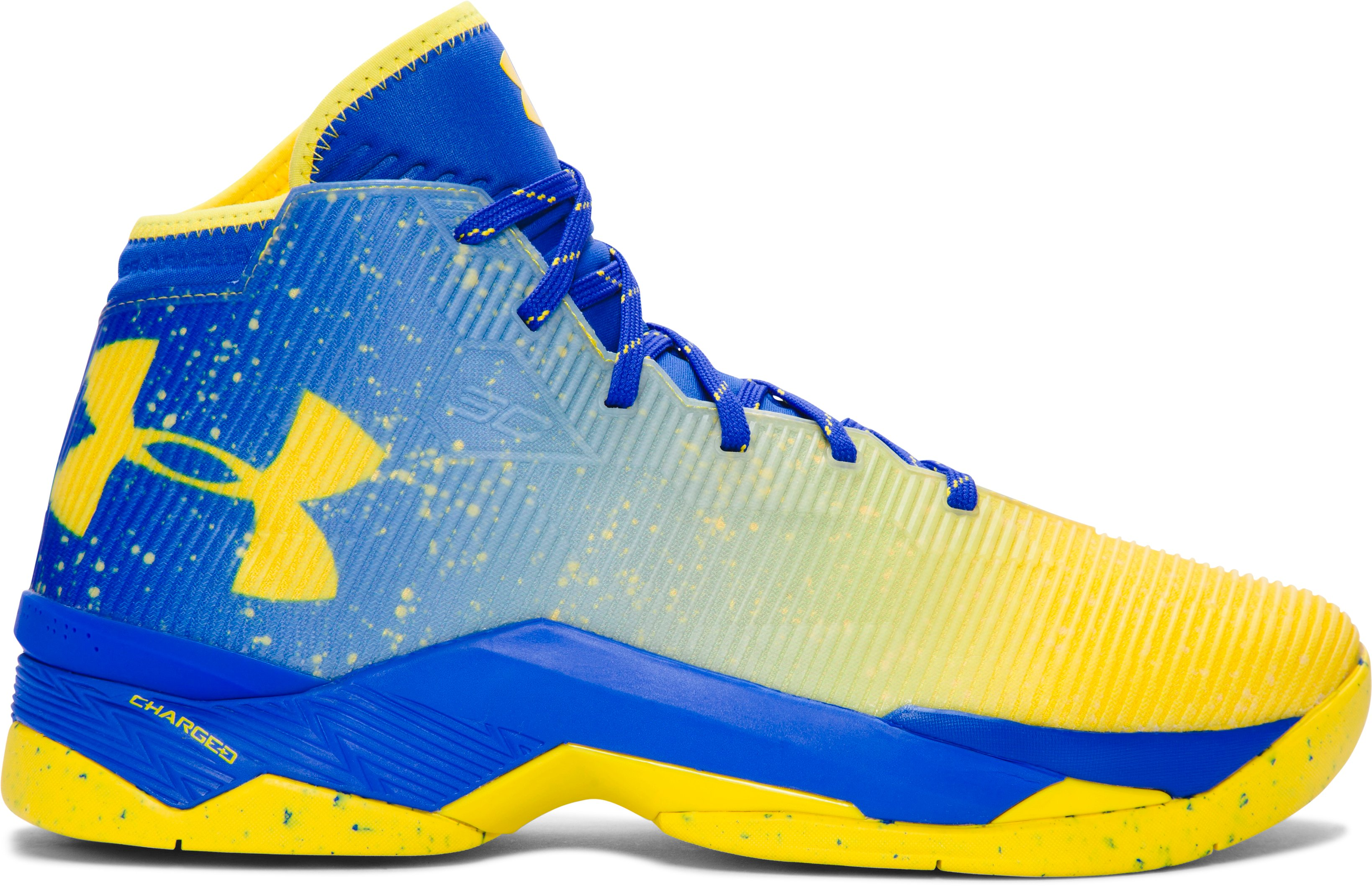 Men39;s UA Curry 2.5 Basketball Shoes, Dub Nation Lights, zoomed image