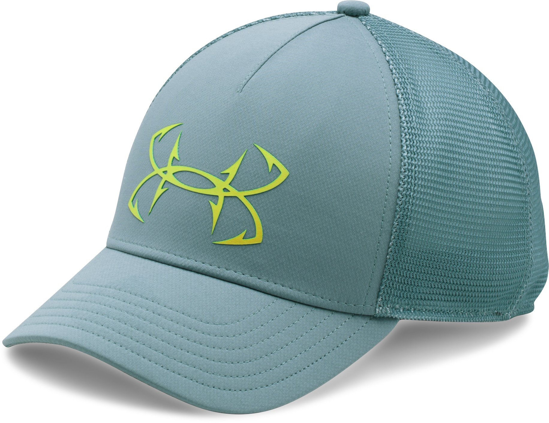 Women's UA Fish Hook Mesh Cap, FRESCO GREEN