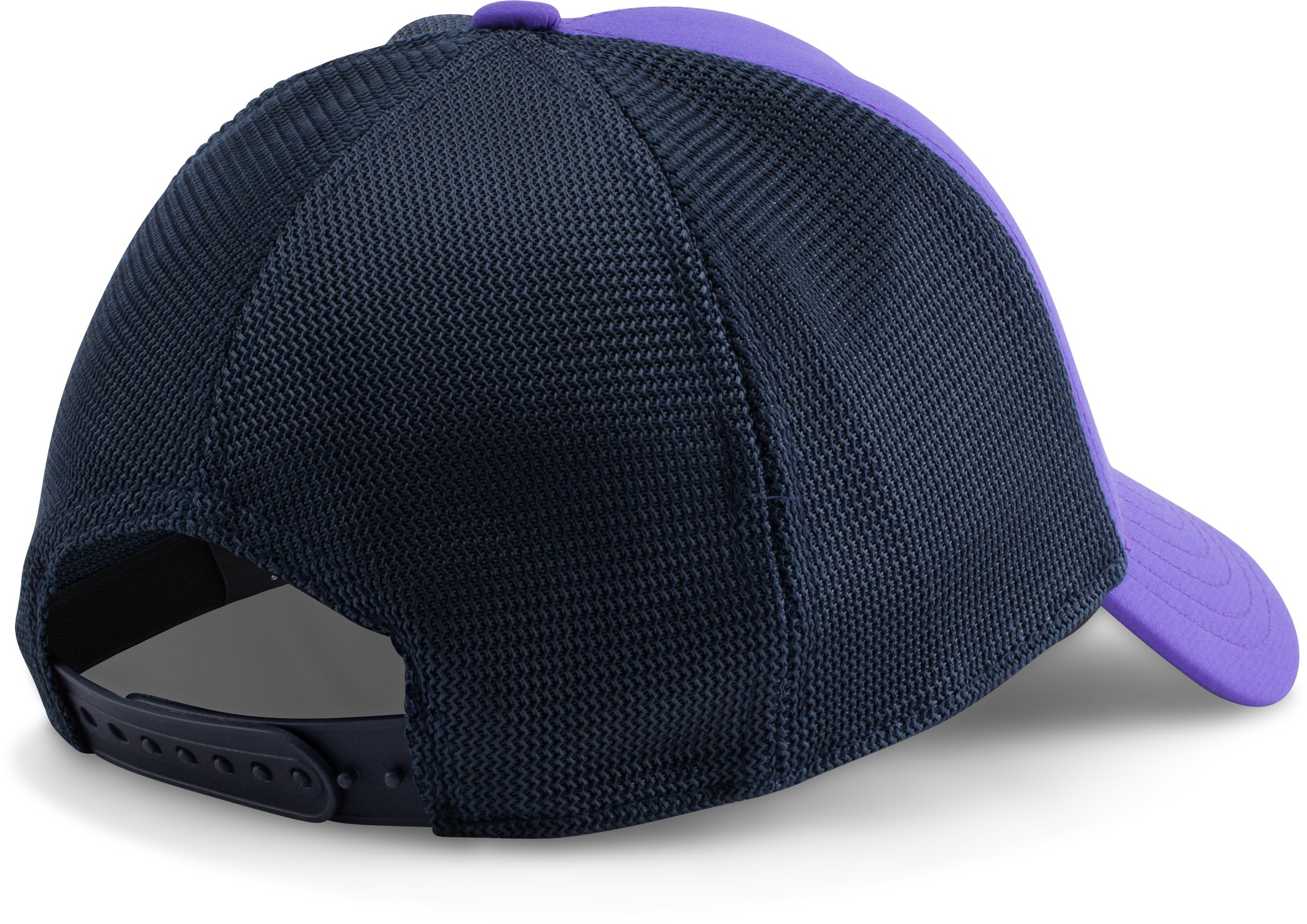 Women's UA Fish Hook Mesh Cap, DEEP ORCHID