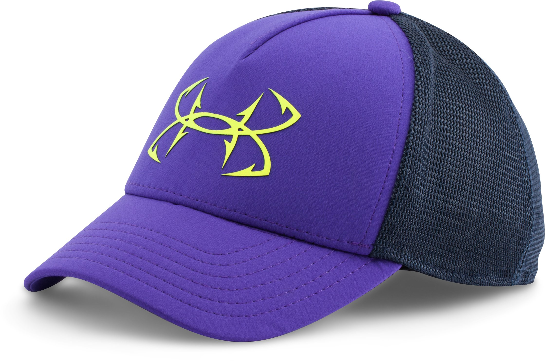 Women's UA Fish Hook Mesh Cap, DEEP ORCHID, zoomed image
