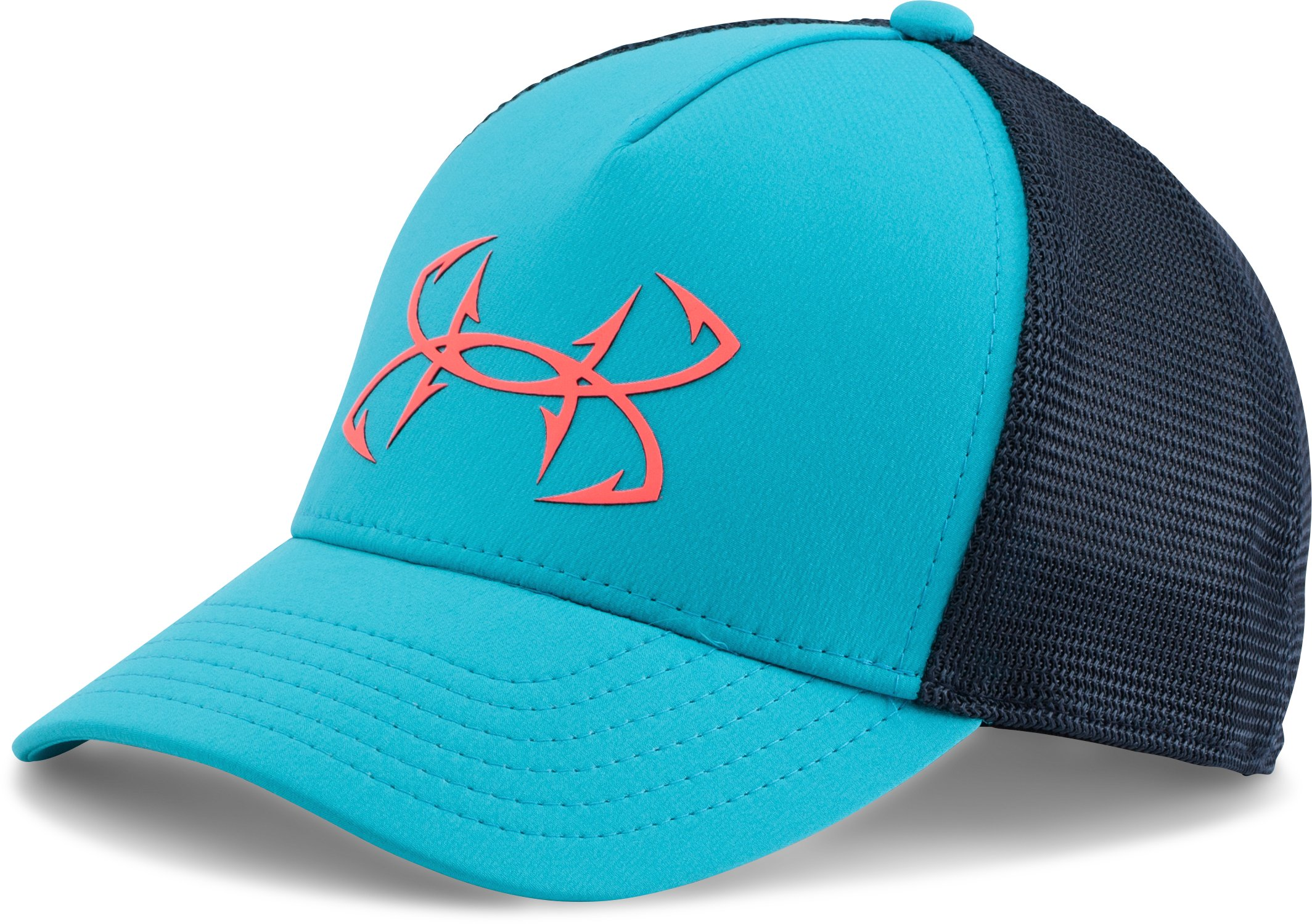 Women's UA Fish Hook Mesh Cap, BOLD AQUA