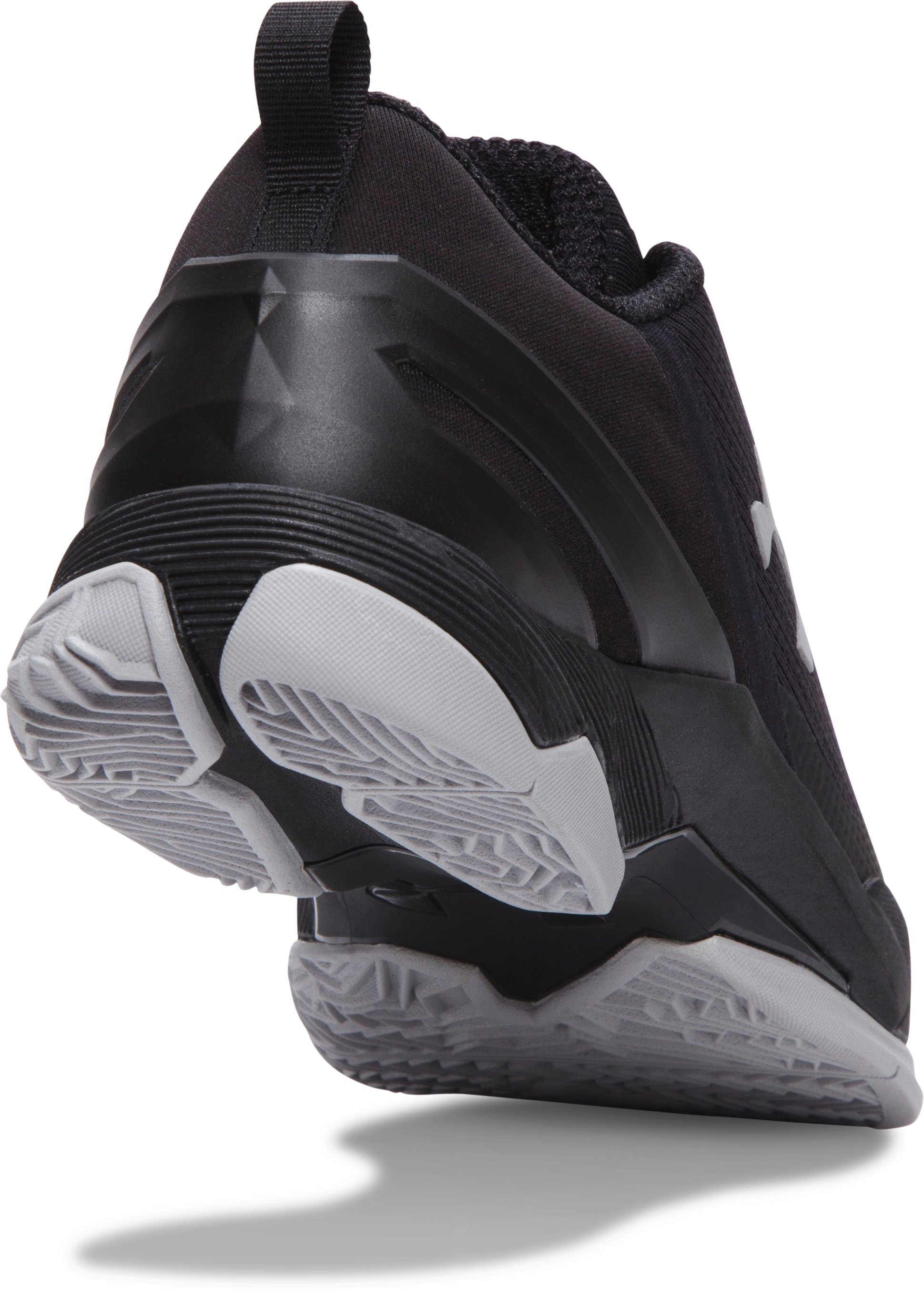 Boys' Grade School UA Curry Two Low Basketball Shoes, Black ,