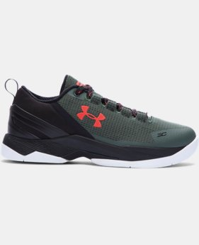 New Arrival Boys' Grade School UA Curry Two Low Basketball Shoes  1 Color $89.99