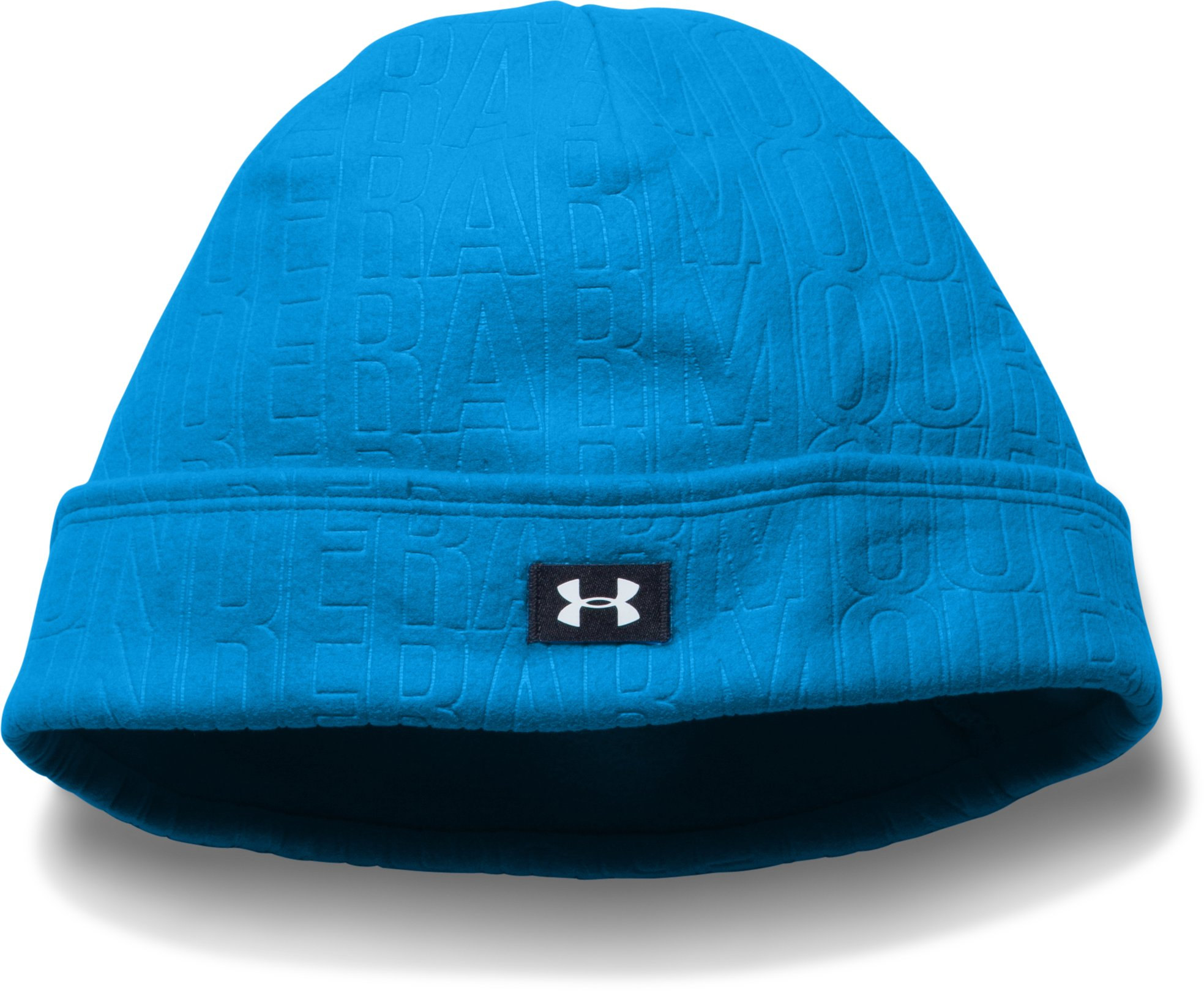 Women's UA Cozy Fleece Beanie, JAZZ BLUE,
