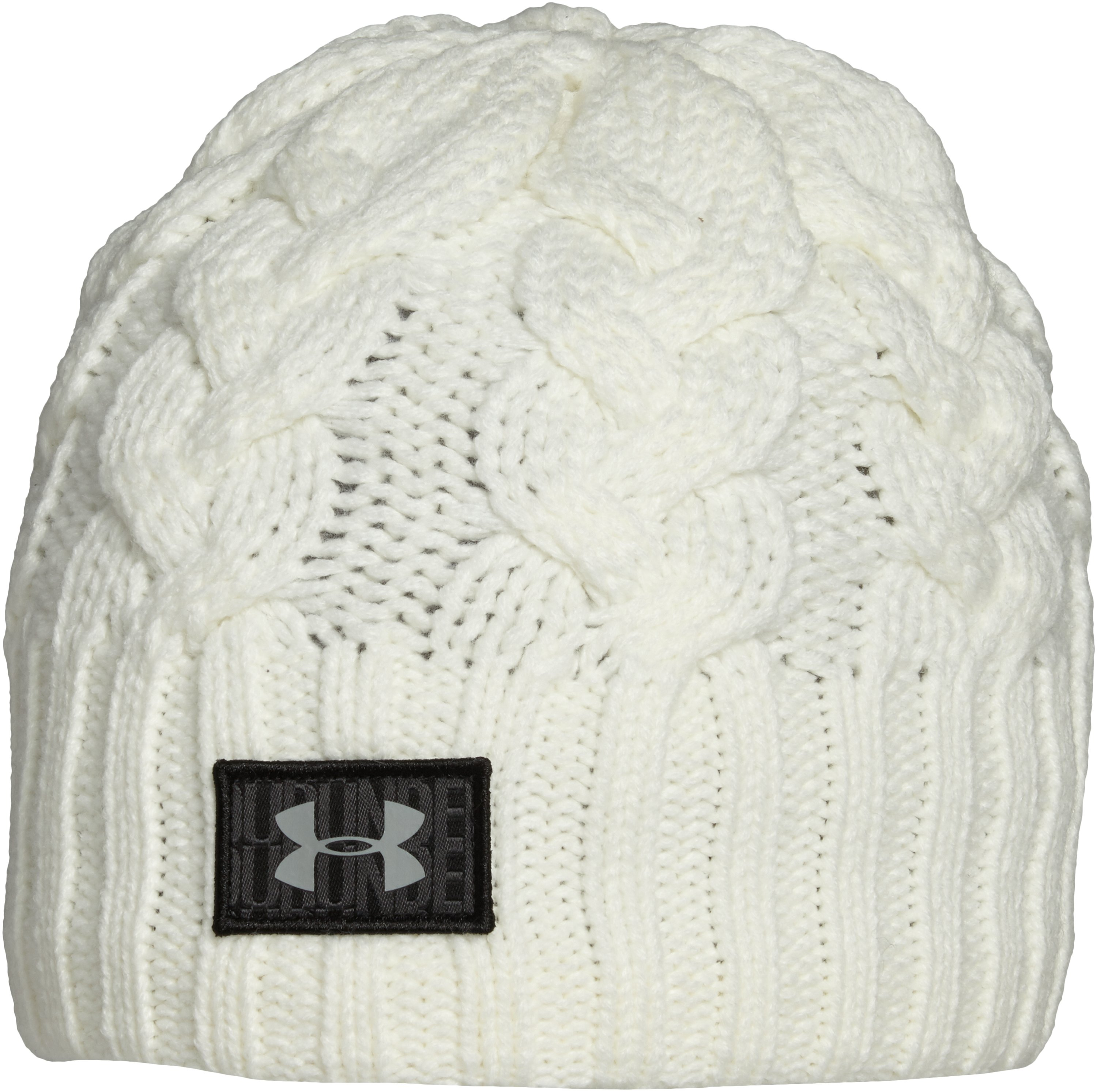 Women's UA Around Town Beanie, Ivory