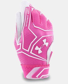 Women's UA ClutchFit™ Fastpitch Batting Gloves  1 Color $40