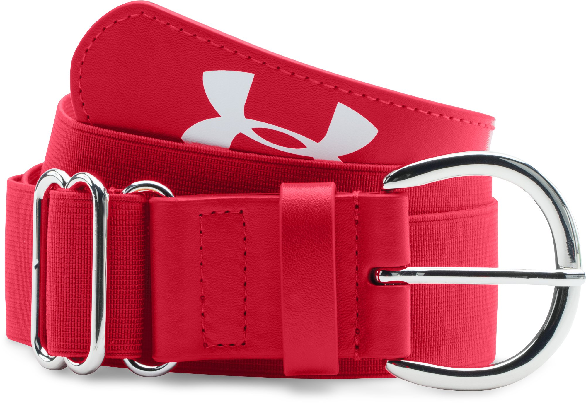 Women's UA Softball Belt, Red,