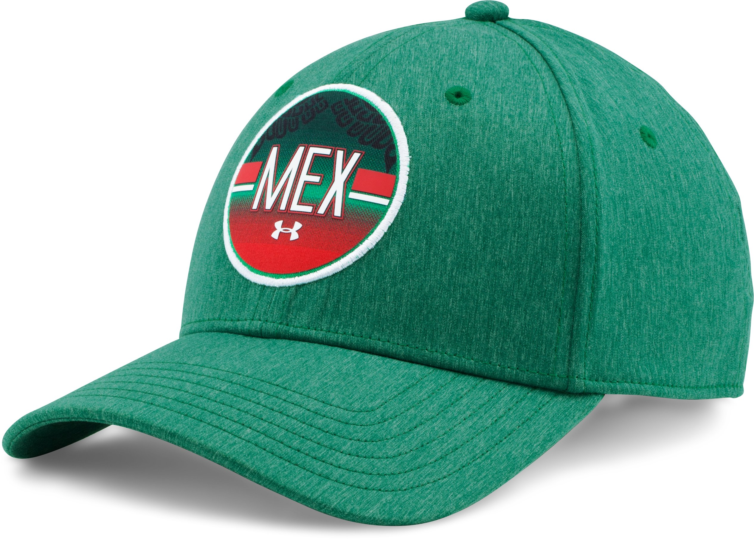 Men's UA Stars & Stripes  Cap, Classic Green, zoomed