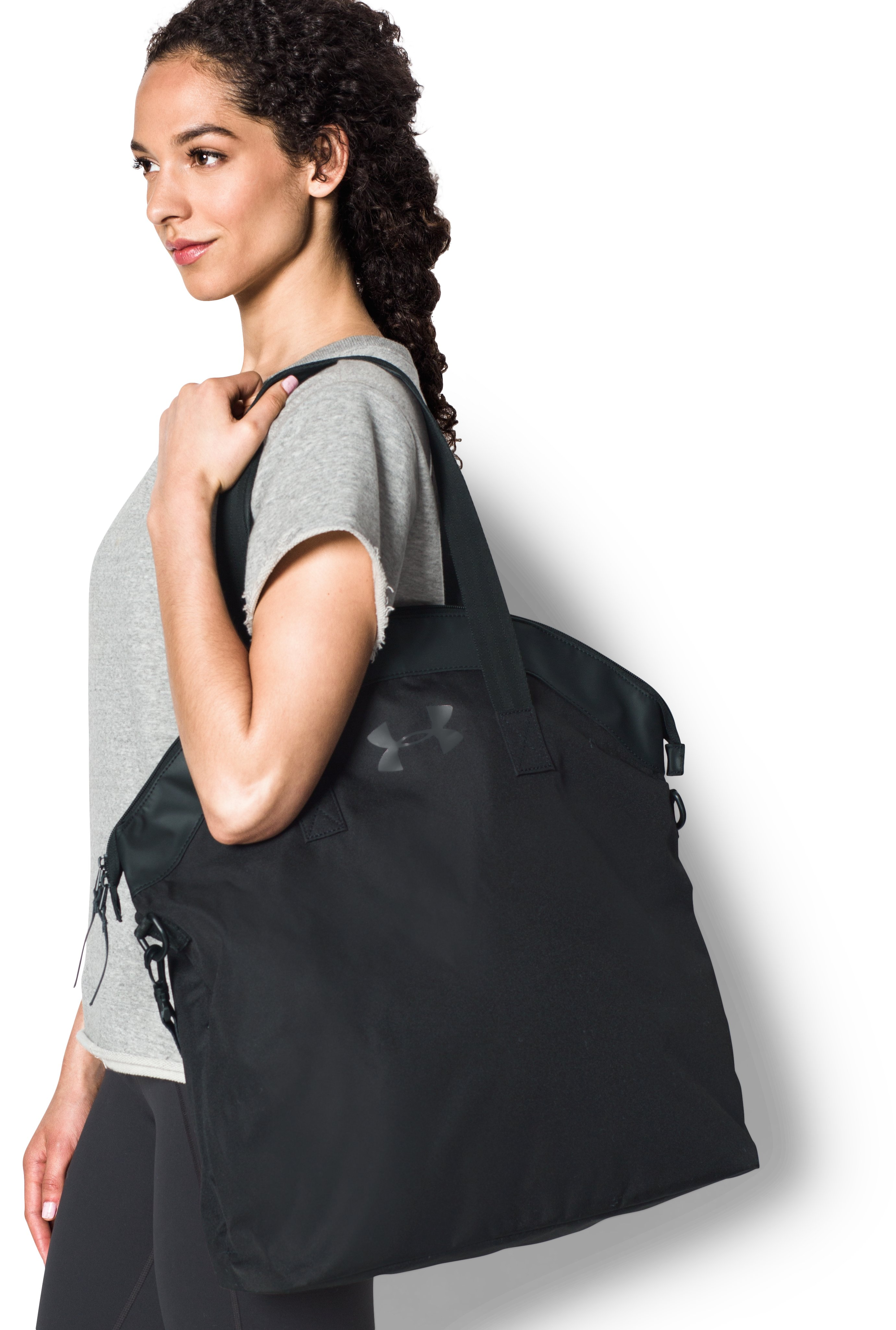 Women's UA Time Saver Tote, Black , undefined