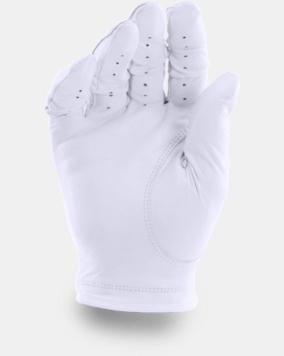 Men's UA Strikeskin Tour Golf Glove, White, pdpMainDesktop image number 1