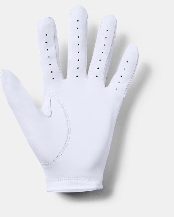 Men's UA Strikeskin Tour Golf Glove, White, pdpMainDesktop image number 3