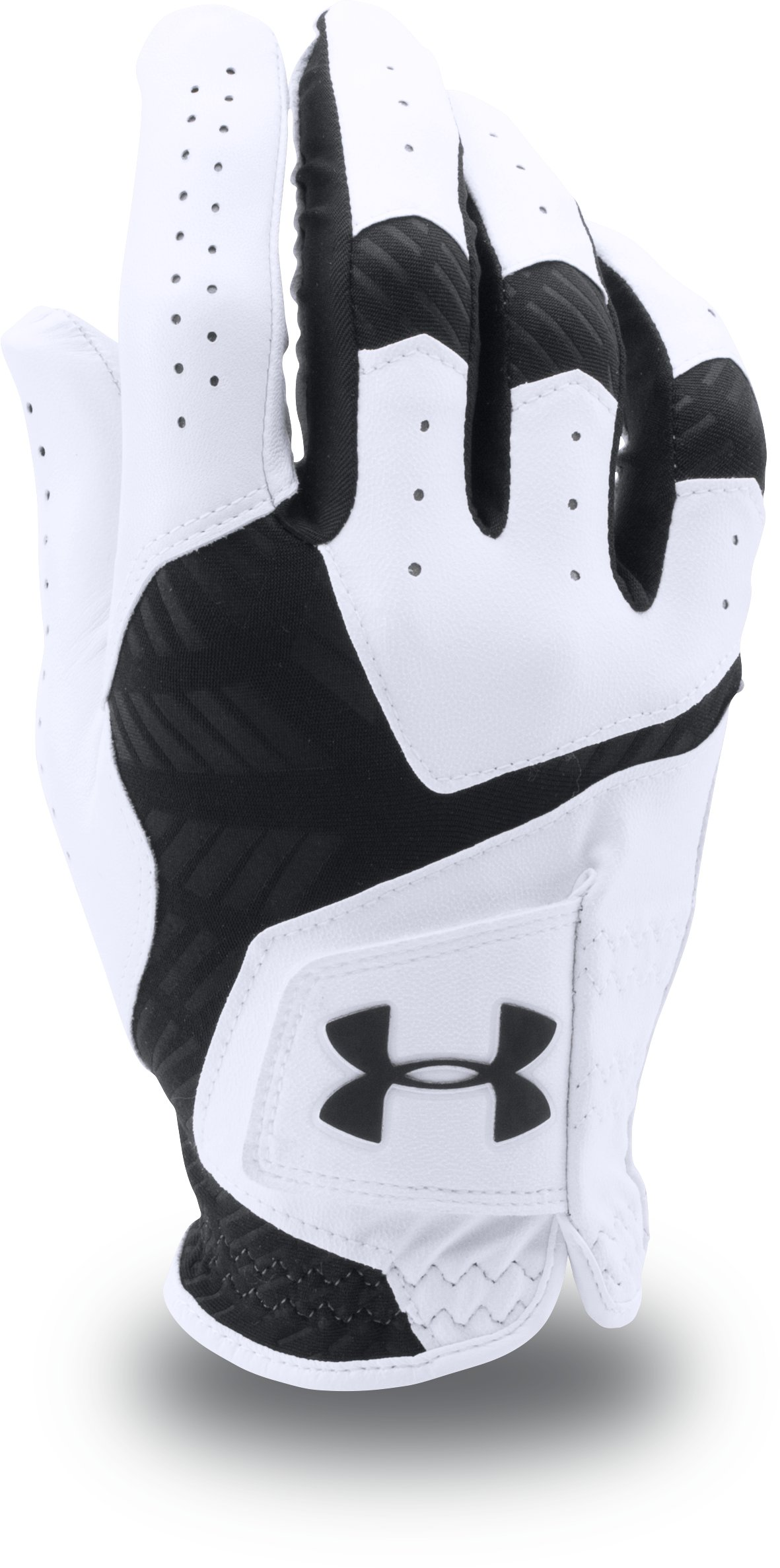 Men's UA CoolSwitch Golf Glove, White, zoomed image