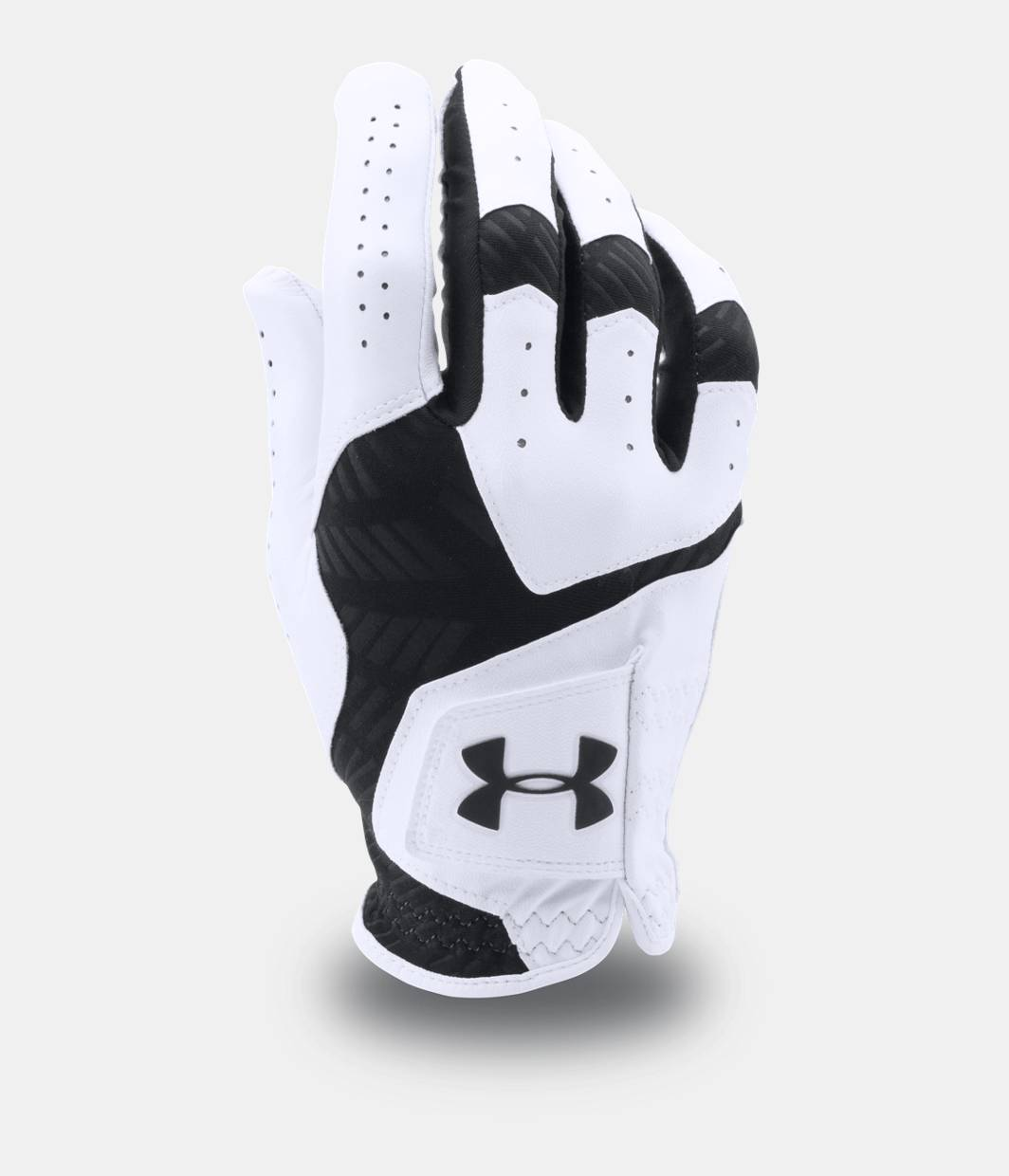 Under armour leather work gloves - Men S Ua Coolswitch Golf Glove White Zoomed Image
