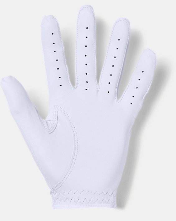 Men's UA CoolSwitch Golf Glove, White, pdpMainDesktop image number 1