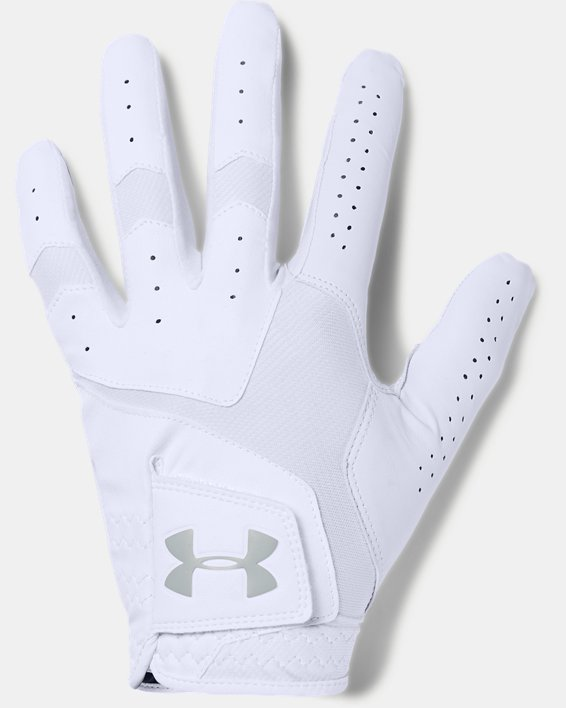 Men's UA CoolSwitch Golf Glove, White, pdpMainDesktop image number 0