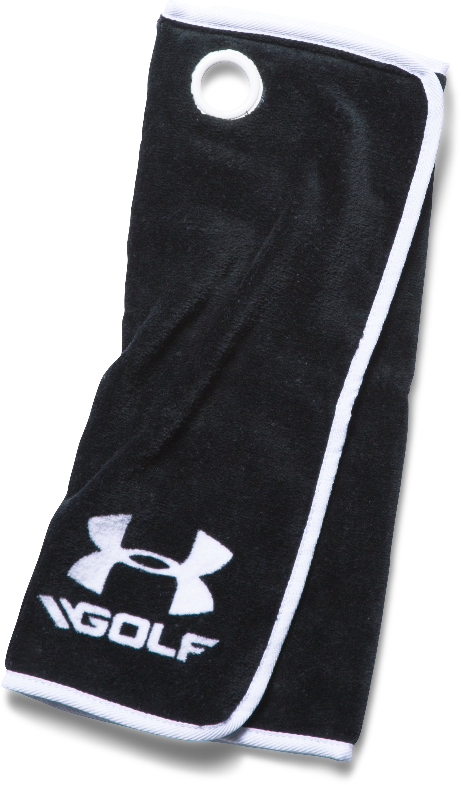 UA Golf Towel, Black ,