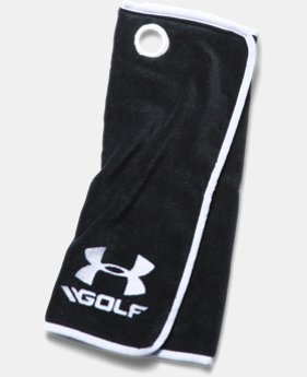 UA Golf Towel  2  Colors Available $16.99