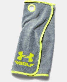 UA Golf Towel LIMITED TIME: FREE U.S. SHIPPING 1 Color $11.99