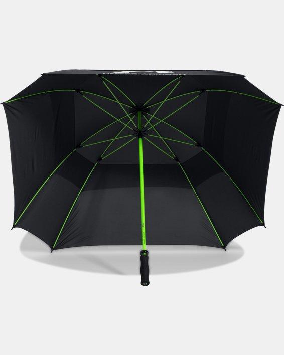 UA Golf Umbrella — Double Canopy, Black, pdpMainDesktop image number 4