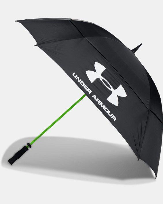 UA Golf Umbrella — Double Canopy, Black, pdpMainDesktop image number 1