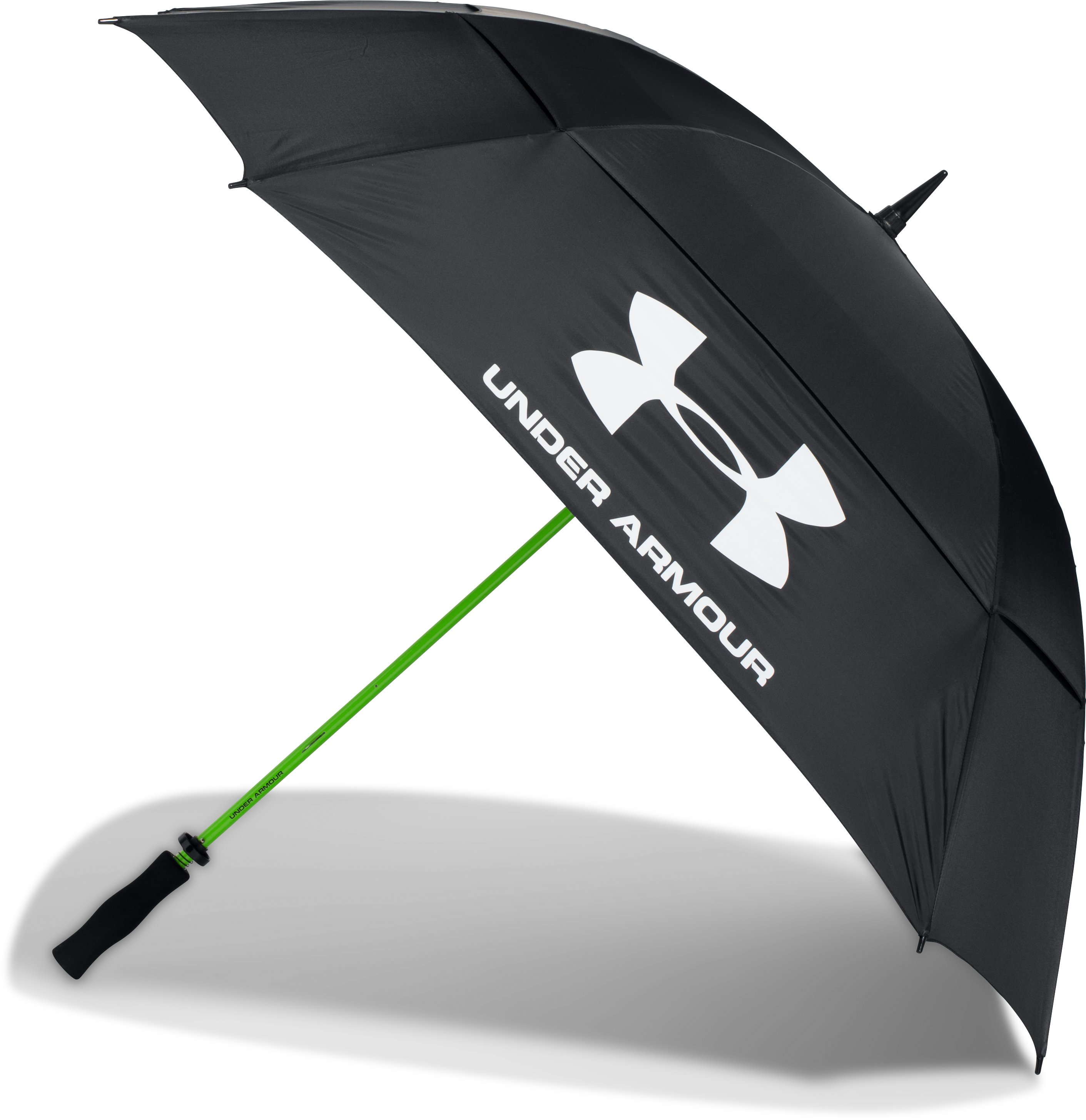 UA Golf Umbrella — Double Canopy, Black , undefined