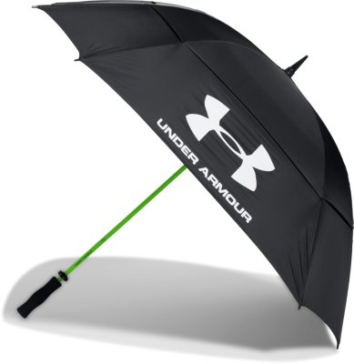 UA Golf Umbrella u2014 Double Canopy Black : canopy umbrella - memphite.com