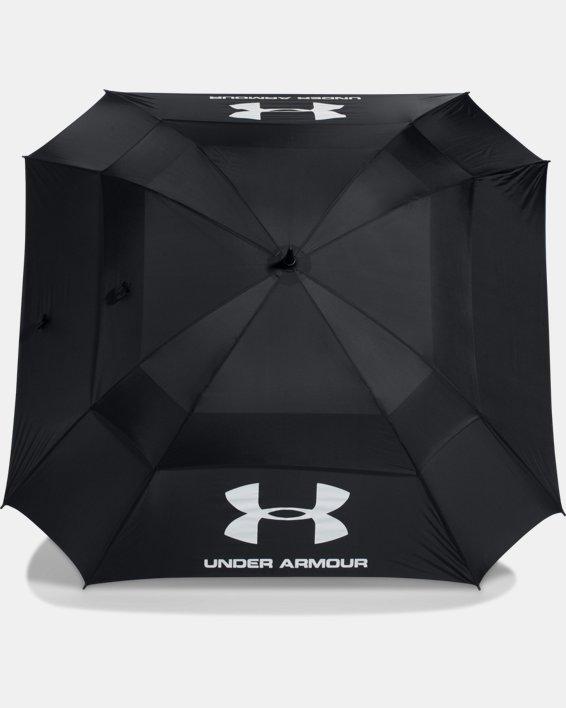 UA Golf Umbrella — Double Canopy, Black, pdpMainDesktop image number 3