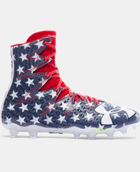 Men's UA Highlight Football Cleats — Limited Edition  1  Color Available $104.99