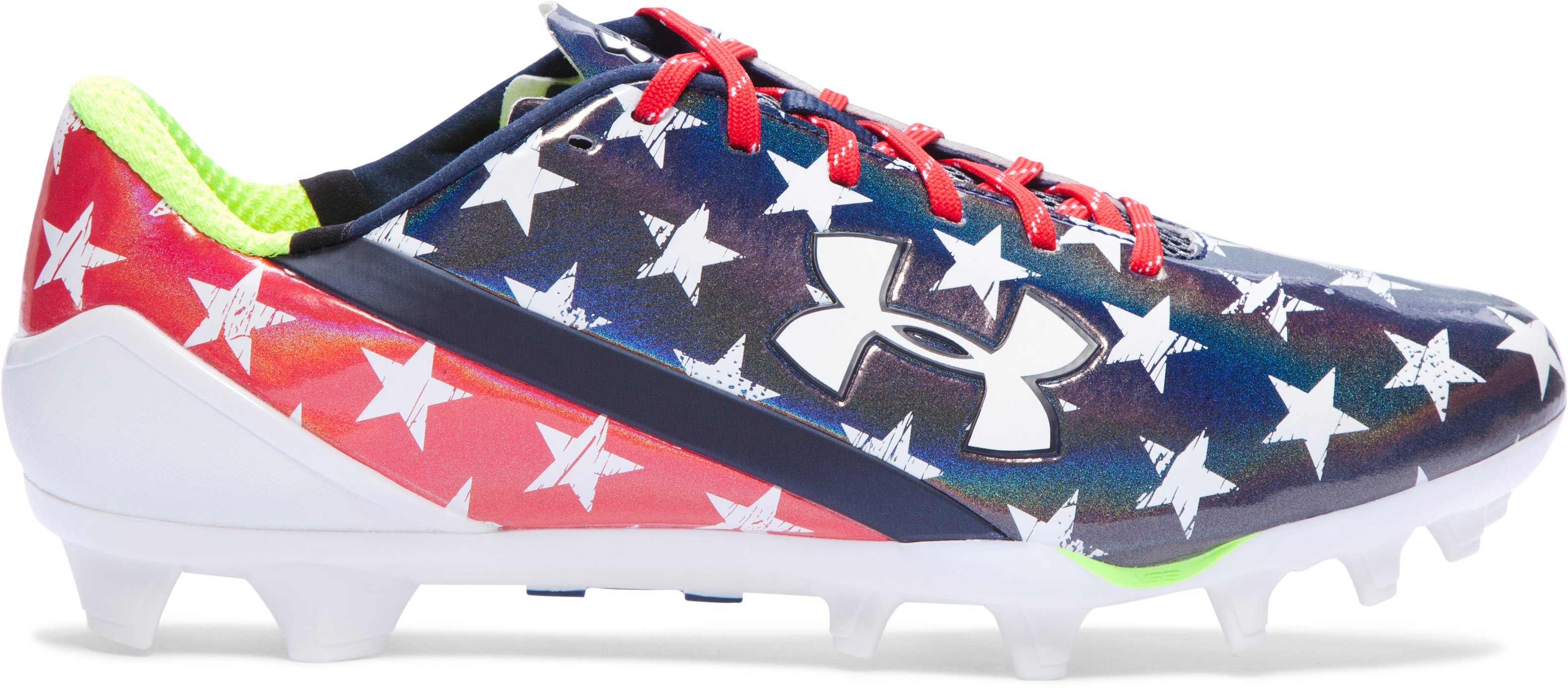Men's UA Spotlight Football Cleats – Limited Edition, Midnight Navy, zoomed image